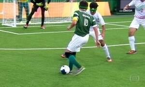 Brasil se torna tetracampeão no futebol de cinco na Paralimpíada