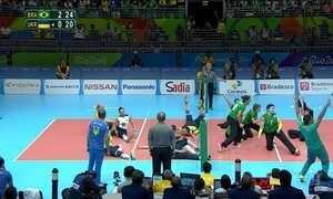 Brasil tem conquista inédita no vôlei sentado