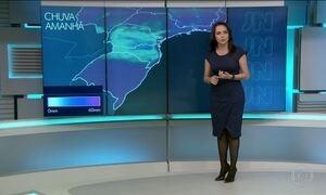Previsão de chuva forte para o sul neste domingo (18)
