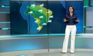 Veja a previsão do tempo para domingo (25)