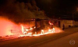Criminosos voltam a atacar ônibus em São Luís