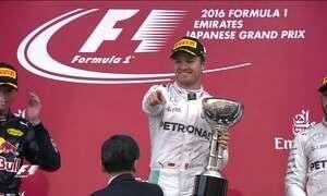 Nico Rosberg vence o GP do Japão de F1