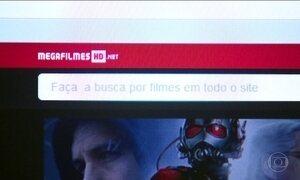 Operação policial tira do ar três sites piratas que ofereciam filmes na web