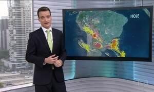 Previsão é de mais chuva forte em Santa Catarina