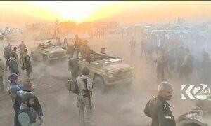 Tropas do Iraque tentam retomar cidade dominada pelo Estado Islâmico
