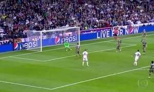 Real Madrid vence na Liga dos Campeões