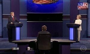 Hillary e Trump trocam críticas no terceiro e último debate presidencial dos EUA