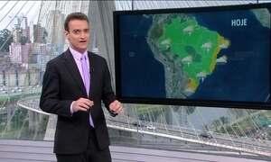 Chuva no Rio Grande Sul afeta mais de 60 cidades