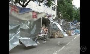 Tufão Haima chega ao Sul da China