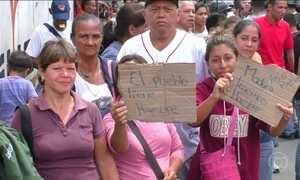 Relatório diz que falta de alimentos e remédios se agravou na Venezuela