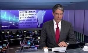 Ministério da Saúde vai distribuir testes rápidos para identificar zika