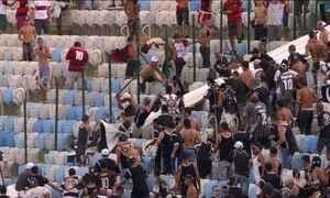 Corintianos que brigaram no Maracanã ficarão presos por tempo indeterminado