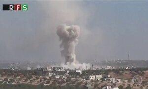 Ataque mata crianças que saíam da escola na Síria