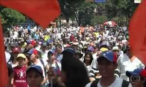 Venezuela tem protestos contra Maduro por impedir plebiscito