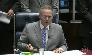 Renan Calheiros quer que STF se manifeste sobre separação dos poderes