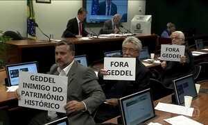 Conselheiro pede para ser afastado do caso do ministro Geddel