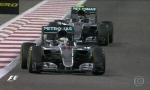 Título da Fórmula 1 de 2016 está entre pilotos da Mercedes