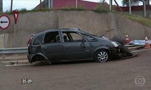 Adolescente de 14 anos morre em acidente de carro