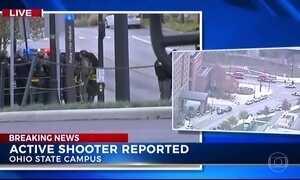 Atirador deixa feridos em universidade nos EUA