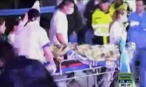Feridos na queda do avião da Chapecoense vão para hospital em La Ceja, na Colômbia