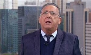 Galvão Bueno diz que já viajou no avião da Chapecoense que caiu na Colômbia