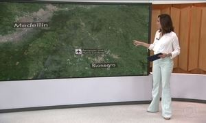 Reveja trajeto do avião da Chapecoense que caiu na Colômbia