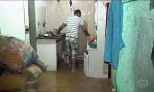Temporal provoca inundação em BH