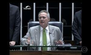 Renan Calheiros tenta acelerar votação, mas acaba derrotado