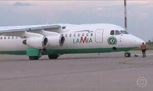 Avião que caiu na Colômbia era o único da LaMia