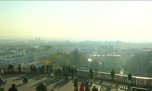 Paris declara emergência de dois dias por causa dos níveis de poluição