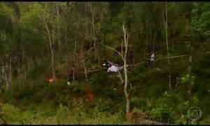 Queda de helicóptero deixa quatro mortos em São Paulo