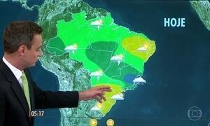 Confira como fica o tempo nesta segunda-feira (5)