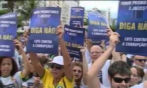 Manifestações mostram endurecimento da população contra casos de corrupção