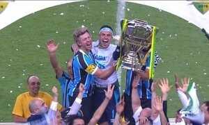 Grêmio empata com o Atlético-MG e é campeão da Copa do Brasil