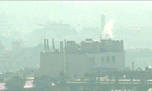 Paris vive a pior onda de poluição dos últimos dez anos
