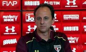Rogério Ceni é apresentado como novo técnico do São Paulo