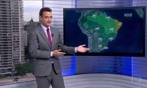Confira a previsão do tempo para este fim de semana em todo o Brasil