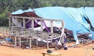 Igreja desaba na Nigéria e mata 160 pessoas