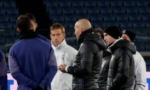 Real Madrid se prepara para o jogo da semifinal
