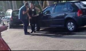 Comerciante agride uma segurança depois de briga em MG