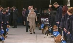 Gripados, Rainha Elizabeth e príncipe Philip cancelam viagem de Natal