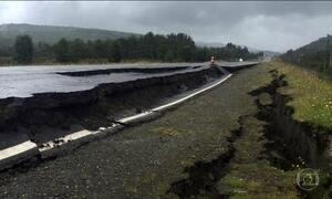 Terremoto atinge sul do Chile no dia de Natal