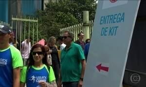 Quinze mil pessoas devem retirar os kits da São Silvestre nessa sexta (30)