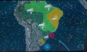 Vai continuar chovendo no Sul do Brasil