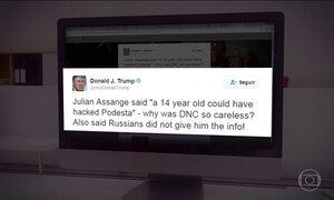 Trump deve receber informações sobre ação de hackers na campanha presidencial