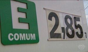 Preço do etanol dispara