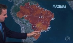 Tempo está abafado em muitas capitais brasileiras