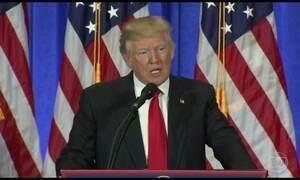 Trump culpa agentes pelo vazamento de dossiê