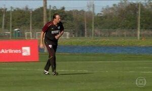 Rogério Ceni inicia o trabalho como treinador do São Paulo