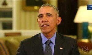 Barack Obama diz que os americanos fizeram dele um homem melhor